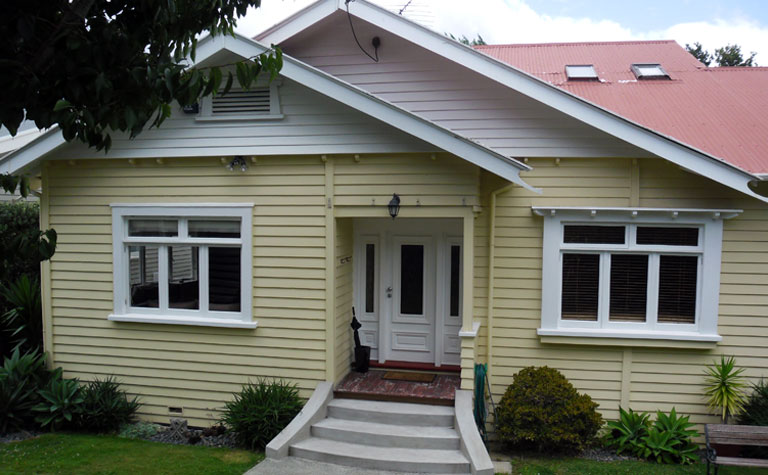 Colour update. Before exterior painting in Remuera