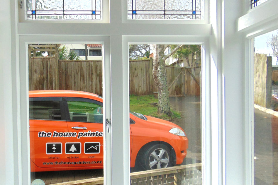 interior villa window painting auckland