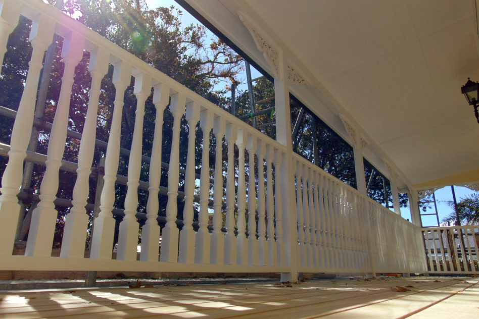 Handrail Painting Auckland Villa