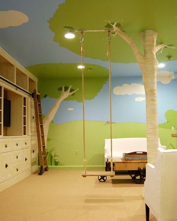 Childrens Interior Room Painting
