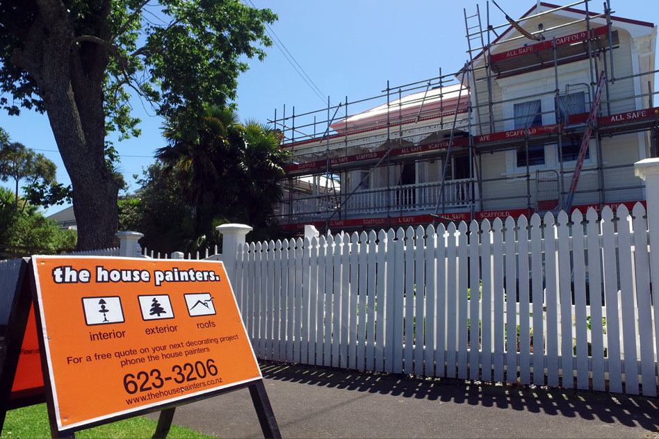 Exterior Painting In Auckland