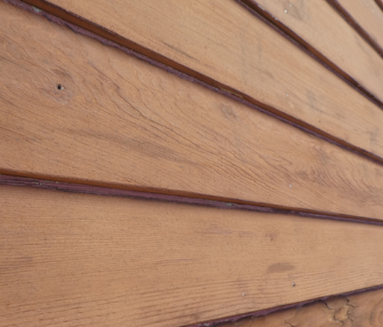 Stripped Paint From Weatherboards